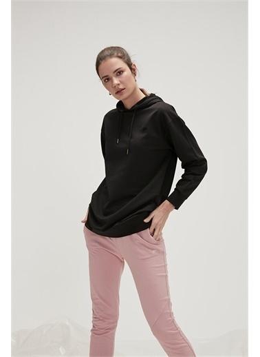 Bad Bear 20.04.12.009C01 Mono Color Hoodıe Uzun Kol Nıght Kadın Kapüşonlu Sweatshirt Lacivert